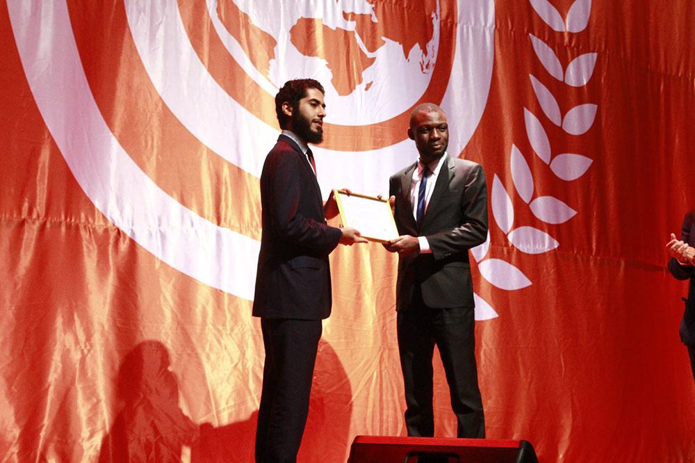 OEC Secretary General-elect, M. Manssour Bin Mussallam and Samuel Ocha Ode